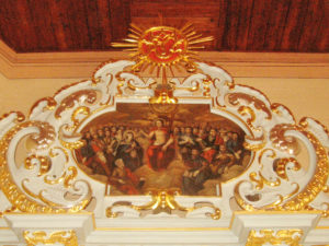 kościól parafialny w Kossowie